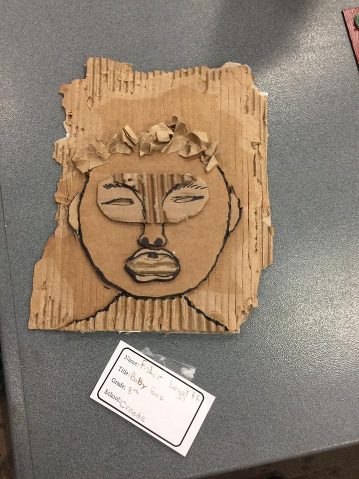 BABY FACE by Fisher Leggitt an 8th grader at Creede School