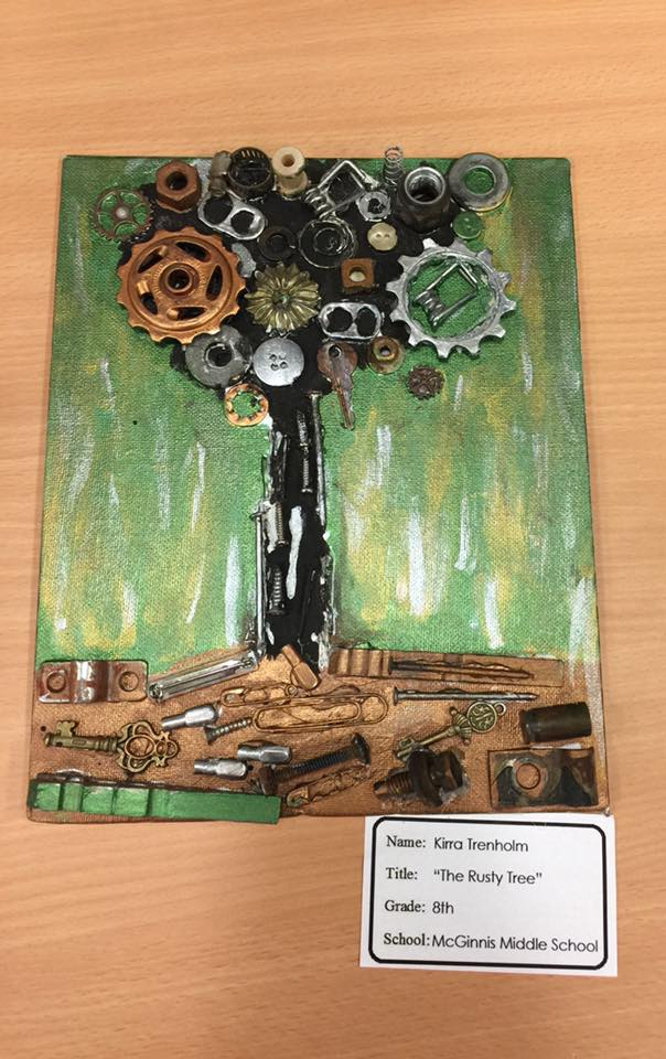 THE RUSTY TREE by Kirra Trenholm a 8th grader at McGinnis Middle School