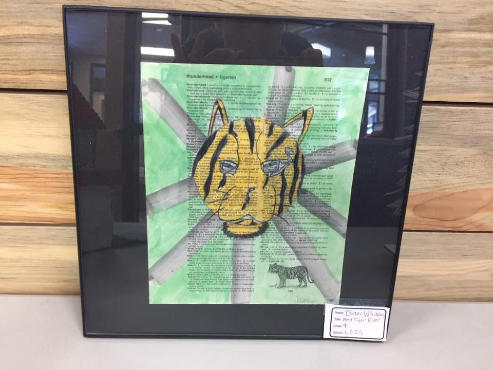 BEST TIGER EVER by Isaac Whiddon a 9th grader from LCCS
