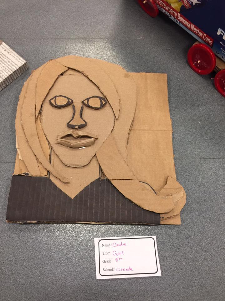 GIRL by Cade a 8th grader at Creede Schools