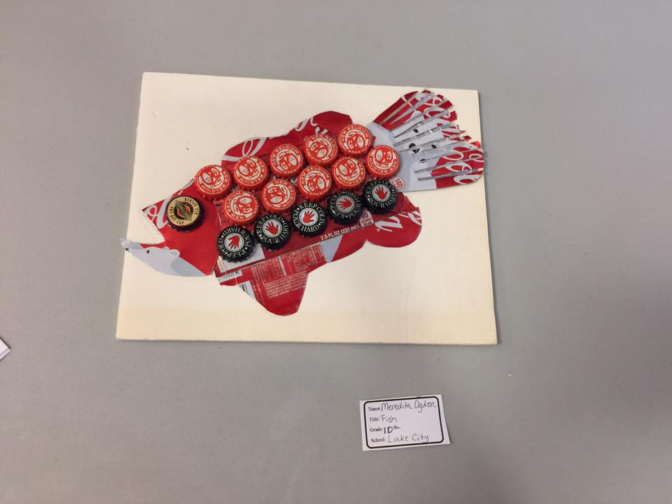 FISH by Meredith Ogden a 10th grader at Lake City High School