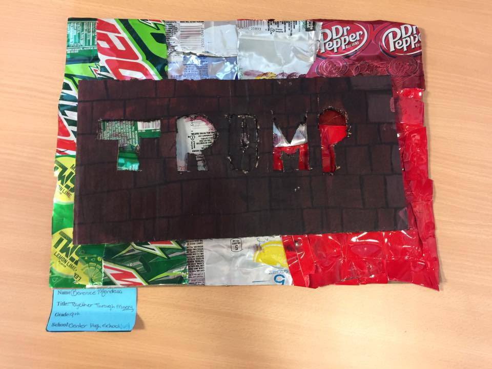 TOGETHER THROUGH MISERY by Berenice Mendoza - a 9th grader at Center High School
