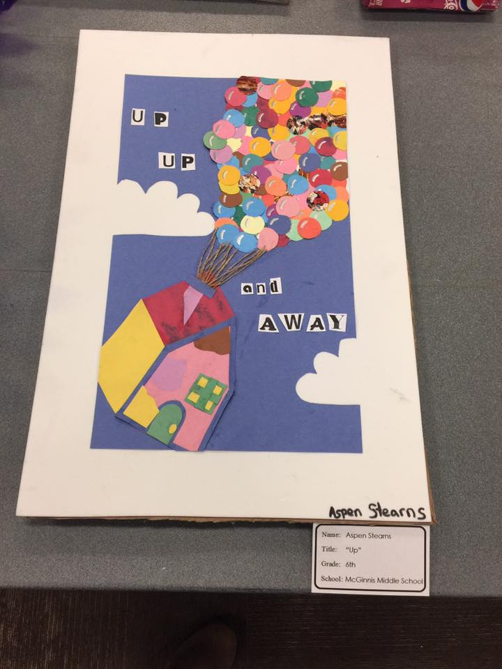 UP by Aspen Stearns a 6th grader at McGinnis Middle School