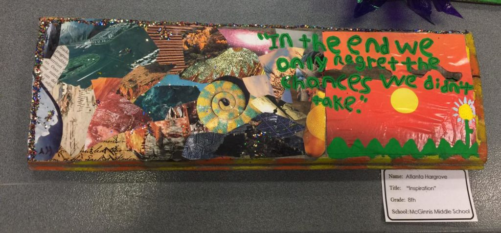 INSPIRATION by Atlanta Hargrove an 8th grader at McGinnis Middle School