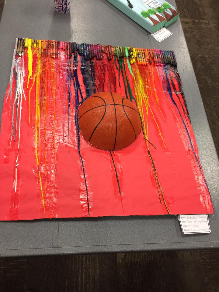 COLOR OF THE GAME by Natalia Cendejas an 8th grader from Skoglund Middle School