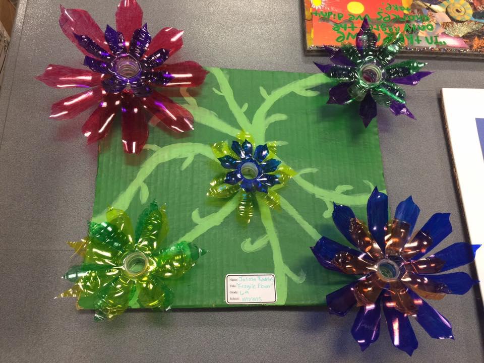 FRAGILE FLOWER by Julissa Rodelas a 6th grader from MVMS
