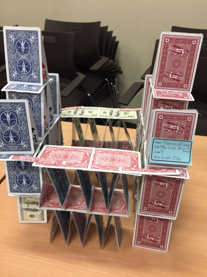THE GREAT HOUSE OF CARDS